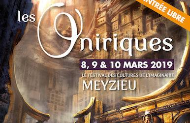 Ce week-end, Gilles Dumay, le directeur d'Albin Michel Imaginaire, est à Meyzieu (69), pour le festival fort bien organisé des Oniriques, quatrième édition. Sur le stand de la librairie L'esprit livre.