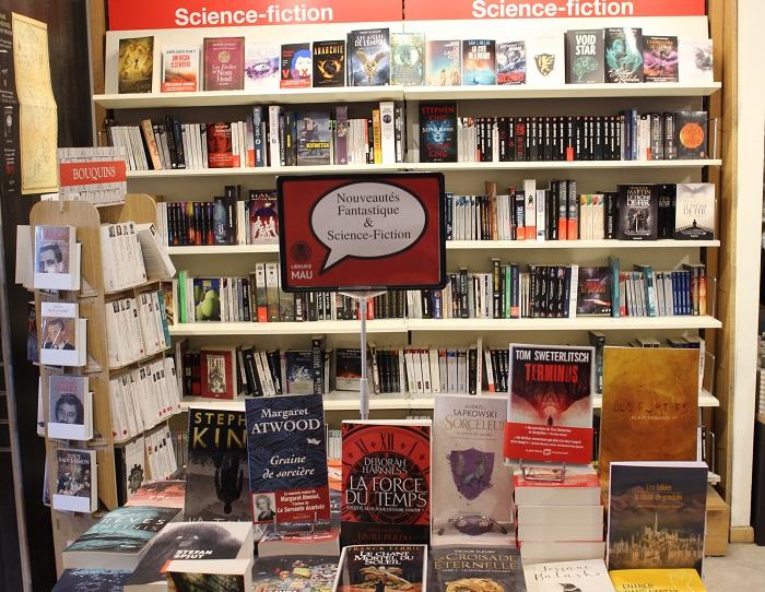 Albin Michel Imaginaire est en tournée libraires jusqu'au Speed Dating des Imaginales. Une autre façon de découvrir l'est de la France. Première étape : la librairie du Mau à Châlons-en-Champagne.
