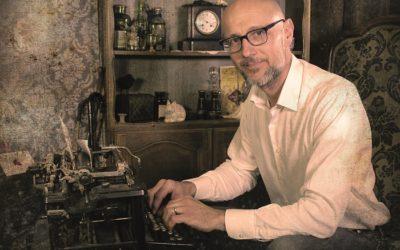 """Gauthier Guillemin, l'auteur de """"Rivages"""" et """"La fin des étiages"""" en interview vidéo sur le site de la librairie Mollat."""
