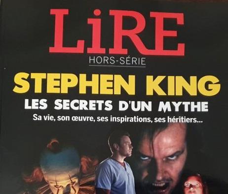Aujourd'hui, dans tous les kiosques, un hors-série du magazine Lire consacré à Stephen King