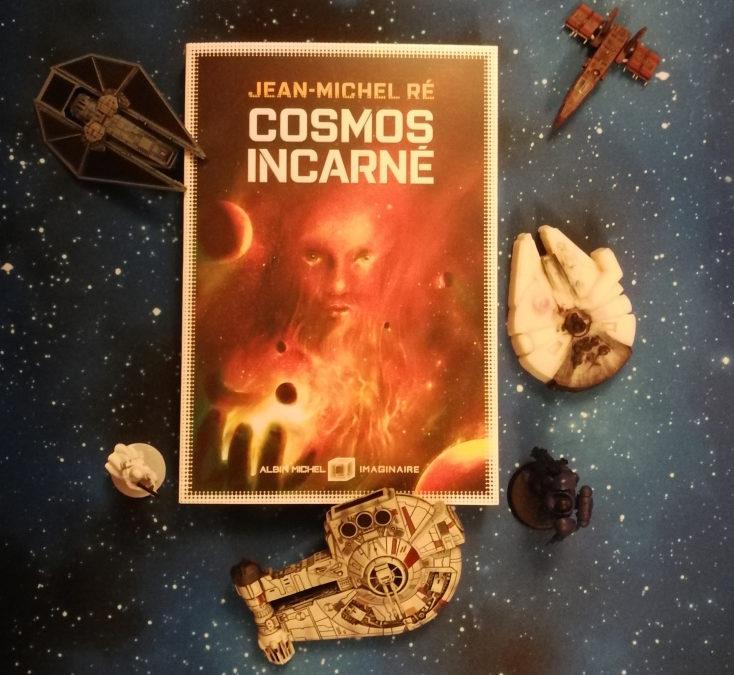 C'est aujourd'hui, mercredi 29 janvier, que sort Cosmos incarné, le volume final de la trilogie de La Fleur de Dieu de Jean-Michel Ré.